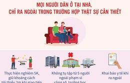 Hôm nay (19/7), Hà Nội dừng các dịch vụ không thiết yếu, người dân phải tuân thủ điều gì?