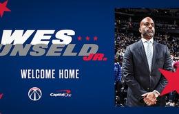 Washington Wizards chính thức bổ nhiệm Wes Unseld làm HLV trưởng