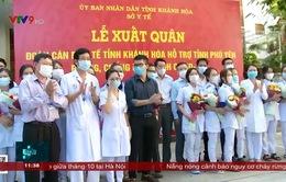 Khánh Hòa cử đoàn y tế hỗ trợ Phú Yên phòng chống covid 19