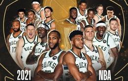 Milwaukee Buck giành chức vô địch NBA 2021