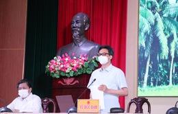 Các tỉnh phía Nam siết chặt biện pháp phòng, chống dịch COVID-19