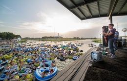 """Trải nghiệm """"thả trôi"""" xem concert trên sông ở Texas (Mỹ)"""