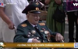 Cụ ông 102 tuổi chiến thắng COVID-19