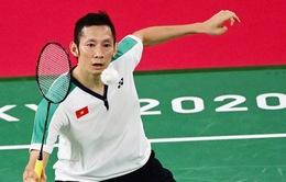 Olympic Tokyo 2002: Nguyễn Tiến Minh thất bại trước tay vợt số 3 thế giới Anders Antonsen (Đan Mạch)