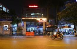 Cách ly y tế Bệnh viện Phổi Hà Nội trong 14 ngày