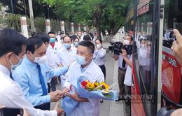 Quảng Trị chi viện y bác sĩ cho các tỉnh phía Nam chống dịch COVID-19