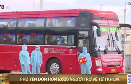 Phú Yên đón 6000 công dân từ TP. Hồ Chí Minh về quê tránh dịch