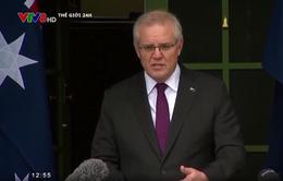 Thủ tướng Australia lên án người biểu tình chống phong tỏa