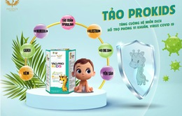 Tăng sức đề kháng cho trẻ, hỗ trợ bảo vệ sức khỏe trong mùa dịch