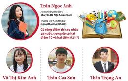 Những gương mặt thủ khoa trong Kỳ thi tốt nghiệp THPT năm 2021