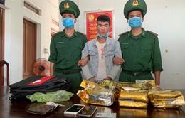 Bộ đội Biên phòng bắt 2 đối tượng, thu giữ 17kg ma túy tổng hợp