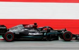Lewis Hamilton đạt thành tích tốt nhất tại buổi chạy thử GP Áo