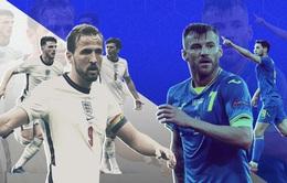 Lịch thi đấu & trực tiếp UEFA EURO 2020 hôm nay: Ukraine - Anh, CH Séc - Đan Mạch