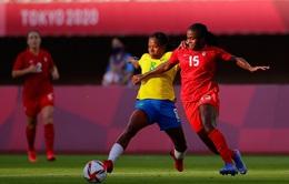 Canada 0–0 (4-3 pen) Brazil: Loạt luân lưu nghẹt thở, ĐT nữ Canada vào bán kết bóng đá nữ bóng đá nữ Olympic Tokyo 2020