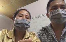 Vợ chồng F0 vừa ra viện: Các y bác sĩ tận tình chăm sóc từng bệnh nhân