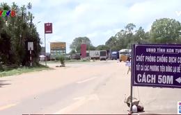 Quảng Nam siết chặt kiểm soát các cửa ngõ ra vào tỉnh -  Kon Tum sẵn sàng đón gần 4000 công dân từ vùng dịch