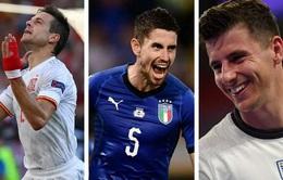 Những thống kê ấn tượng sau vòng Tứ kết UEFA EURO 2020