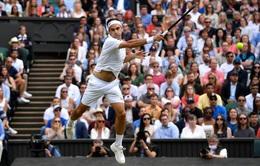 Vượt qua tay vợt chủ nhà, Roger Federer tiến vào vòng 4 Wimbledon 2021