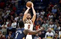 New Orleans Pelicans có thể tham gia vào thương vụ Kevin Love