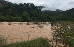 2 công nhân thủy điện ở Lai Châu bị lũ suối cuốn trôi