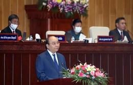 Toàn văn bài phát biểu của Chủ tịch nước Nguyễn Xuân Phúc tại phiên họp Quốc hội khóa IX nước CHDCND Lào
