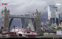 Cầu Tháp London, Anh gặp sự cố bất ngờ