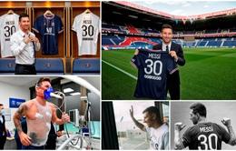 CHÙM ẢNH: Lionel Messi đến PSG ký hợp và ra mắt đội bóng mới