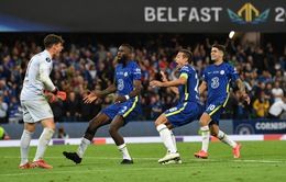 Thắng nghẹt thở trên loạt luân lưu, Chelsea giành Siêu cúp châu Âu!