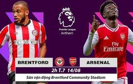 Khai màn Ngoại hạng Anh | Brentford - Arsenal: Khởi đầu thuận lợi cho Pháo thủ? (02h00 ngày 14/8)