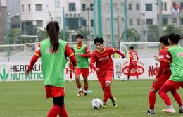 Đội tuyển Nữ Quốc gia tăng tốc luyện kỹ – chiến thuật