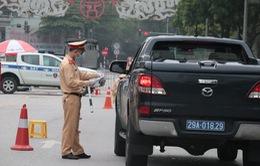 Hà Nội: Lập 6 tổ liên ngành kiểm soát chặt người ra đường tại 12 quận