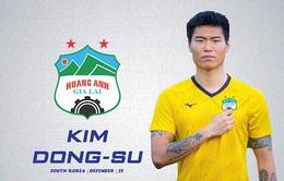 Chuyển động V.League: Kim Dong Su gia hạn hợp đồng cùng HAGL, SLNA trở lại luyện tập