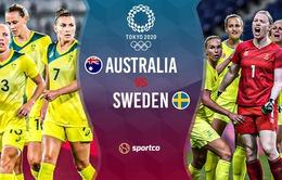 Australia vs Thuỵ Điển: 18h00 hôm nay (2/8) trên VTV5, VTV9 và VTVGo   Bán kết bóng đá nữ Olympic Tokyo 2020