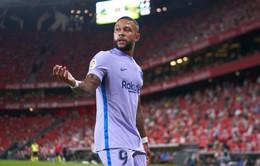 Depay lập công, Barcelona vất vả giành 1 điểm trên sân của Bilbao