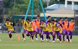 ĐT U22 Việt Nam tiếp tục tăng cường thể lực, hoàn thiện lối chơi
