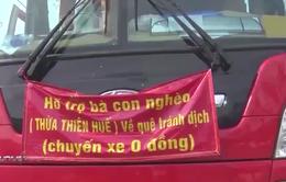 """Xử phạt nhóm tài xế núp bóng """"chuyến xe 0 đồng"""" để chở người từ vùng dịch về Huế"""