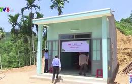 Quảng Nam trao tặng nhà cho người dân vùng sạt lở