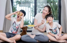Đan Lê bật mí bí kíp giữ hòa khí gia đình trong mùa dịch