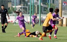Đội tuyển nữ Quốc gia tái đấu U15 nam Futsal