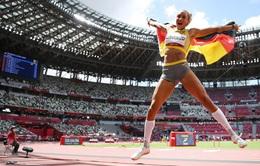 Olympic Tokyo 2020 | Cú nhảy xa 7m giúp Malaika Mihambo giành HCV ngoạn mục
