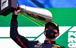 Max Verstappen giành chiến thắng tại GP Bỉ