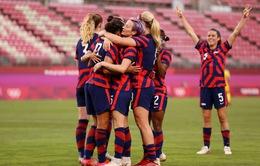 Olympic Tokyo 2020 ngày 05/8: Mỹ giành HCĐ môn bóng đá nữ