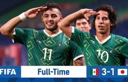 Thắng thuyết phục Nhật Bản, Mexico giành HCĐ bóng đá nam Olympic Tokyo 2020