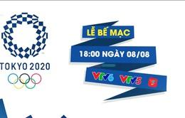 Lễ bế mạc Olympic Tokyo 2020 | 18h00 ngày 8/8, trực tiếp trên VTV5, VTV6