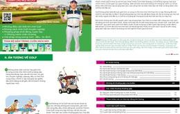 Phát hành sách hướng dẫn chơi golf gây Quỹ golf học đường và đào tạo golfer trẻ