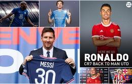 Chuyển nhượng mùa hè 2021: Messi, Ronaldo có bến đỗ mới và những thương vụ đình đám