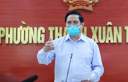 VIDEO: Thủ tướng phê bình công tác phòng chống dịch của quận Thanh Xuân, Hà Nội