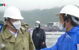 Đà Nẵng: Mở cửa âu thuyền Thọ Quang cho tàu tránh bão