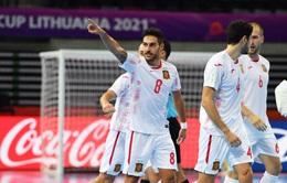 VIDEO Highlights | ĐT Paraguay 0-4 ĐT Tây Ban Nha | Bảng E VCK FIFA Futsal World Cup Lithuania 2021™