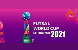 Lịch thi đấu và trực tiếp FIFA Futsal World Cup Lithuania 2021™ hôm nay (12/9): Khai màn hấp dẫn